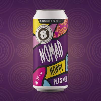 Nomad Hoppy Pils (4.2% Abv)
