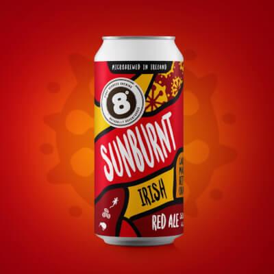 Sunburnt Irish Red Ale (5% Abv)