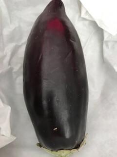Organic Aubergine