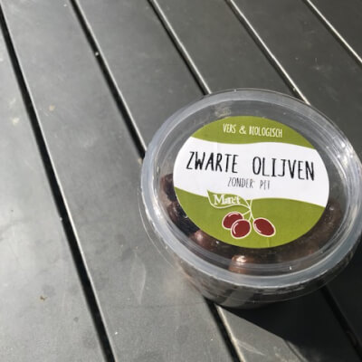 Organic Black Olives