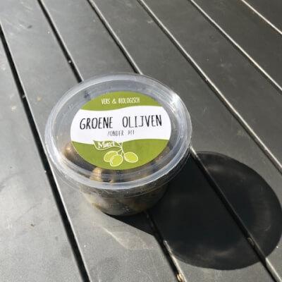 Organic Green Olives