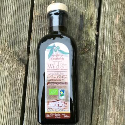 Organic Wild Olive Oil
