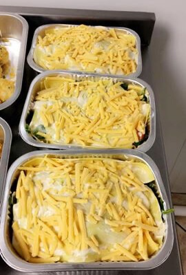 Hake Lasagne