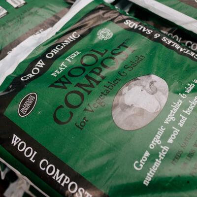 Dalefoot Wool Vegetable Compost