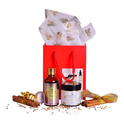 Skin Elixir Gift Set #4 60Ml Moisturiser & 50Ml 'Bisou' Body/Bath Or Shower Oil