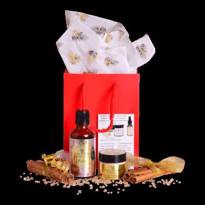 Skin Elixir Gift Set #2 15Ml Moisturiser & 50Ml 'Bisou' Body/Bath Or Shower Oil