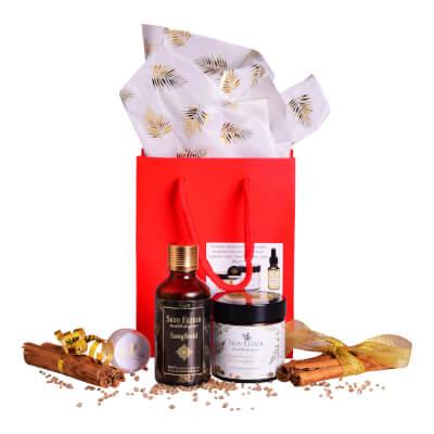 Skin Elixir Gift Set #5 60Ml Moisturiser & 50Ml 'Sangfroid' Body/Bath Or Shower Oil