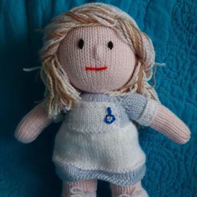 Knitted Nurse