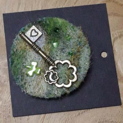 Key Brooch