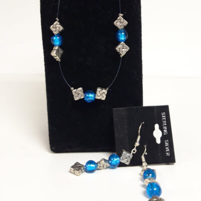 Blue Bead Set