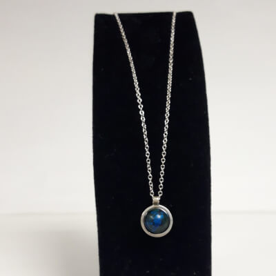 Silver Blue Chain