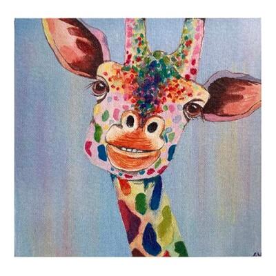 Emma -  Giraffe Card