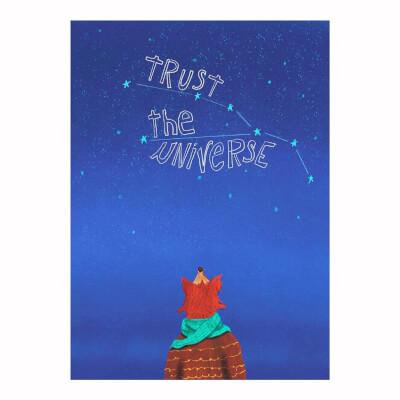 Trust The Universe Card