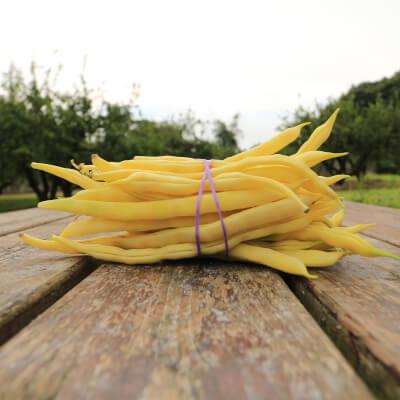 Organic Yellow French Beans