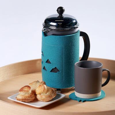 Coffee Cosy - Duckegg Blue