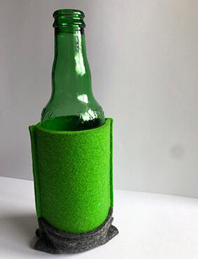 Beer Bottle Holder - Green