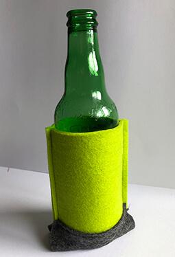 Beer Bottle Holder - Lime
