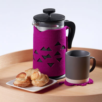 Coffee Cosy - Purple