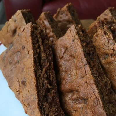 Gluten-Free Dark Sticky Ginger Cake