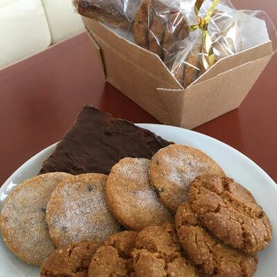 Gluten & Dairy-Free Snacks Box With Caramel Slice