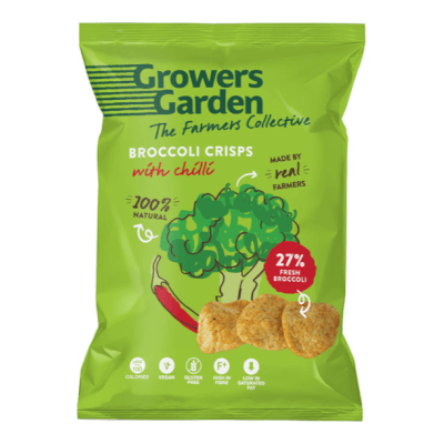 Broccoli Crisps With Chill
