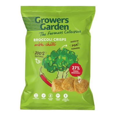Broccoli Crisps With Chilli (22G)