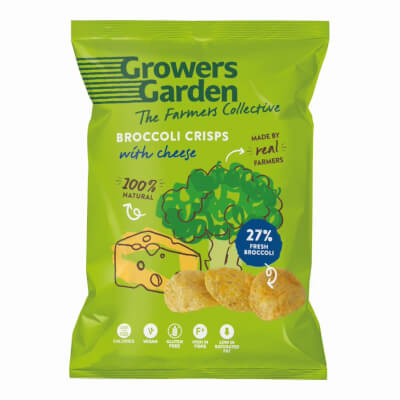 Broccoli Crisps With Cheese (22G)