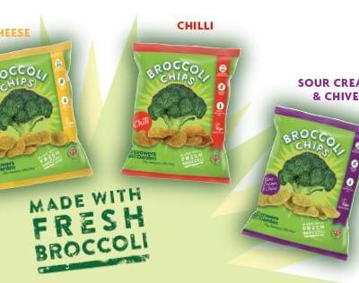 Broccoli Crisps - Mixed Box (24G X 24)