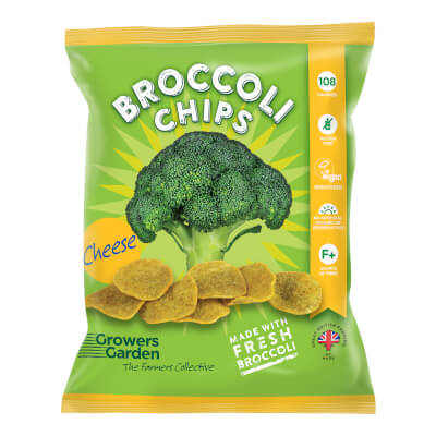 Broccoli Crisps With Cheese (24G)