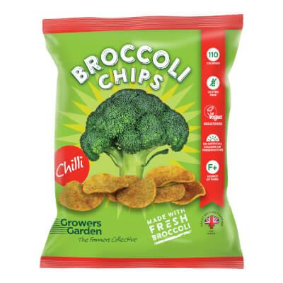 Broccoli Crisps With Chilli (24G)