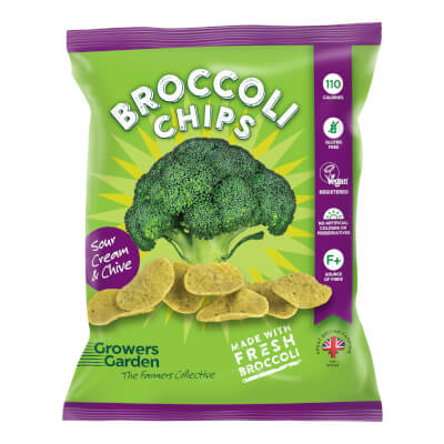 Broccoli Crisps With Sour Cream And Chive (24G)