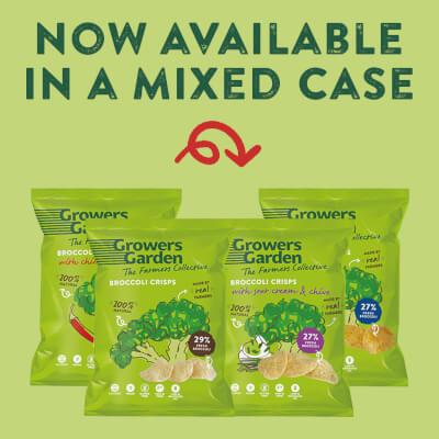 Broccoli Crisps - Mixed Box (22G X 24)
