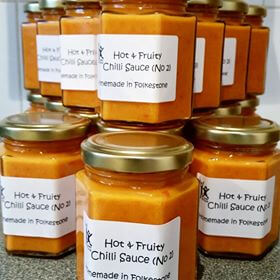Hot & Fruity Chilli Sauce No 2
