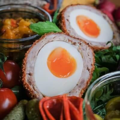 Traditional Pork Scotch Egg