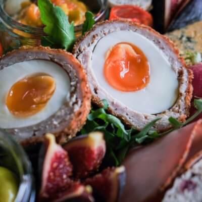 Pork & Haggis Scotch Egg