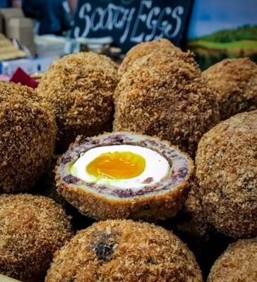 Pork & Stornoway Black Pudding Scotch Egg
