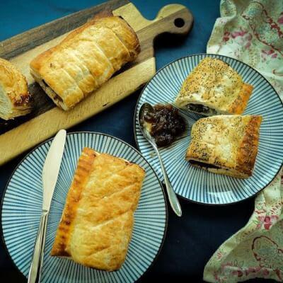 Pork, Fennel Seed, Rosemary & Lemon Sausage Roll