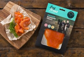 100 G Pack Of Cold Smoked Rainbow Trout