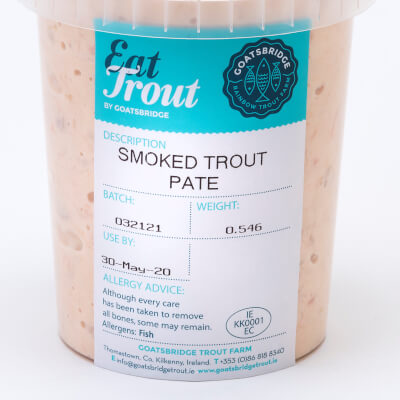 Catering Smoked Trout Pate