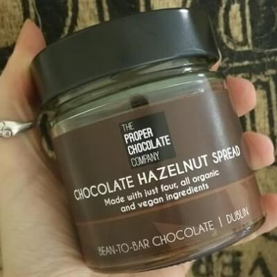 Chocolate Hazelnut Spread -  Just4 Ingredients, All Organic, Vegan