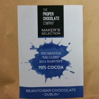 "Single Origin Dark Chocolate - 70% Nicaragua Heirloom ""Nicalizo"""