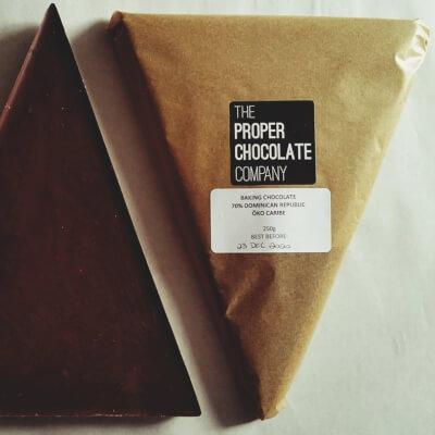 Baking Chocolate Triangle Block - Dark 70%