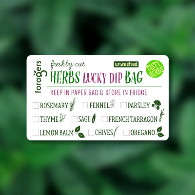 Lucky Dip Herb Bag (Freshly Cut)
