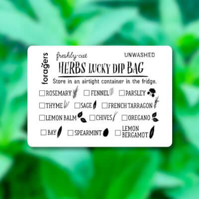 Lucky Dip Herb Bag (Freshly Cut)