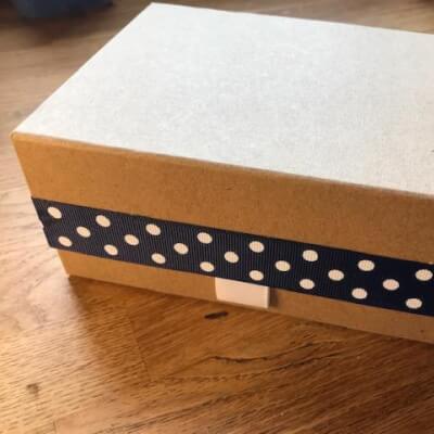 Luxury Spot Gift Box With 3 Soaps (Lavender, Lemon & Frankincense & Juniperberry)