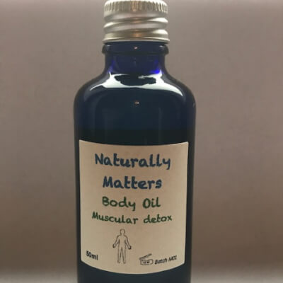 Blended Body Oil - Muscular Detox