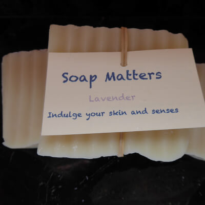Natural, Handmade  Soap - Lavender (The Calming Bar)