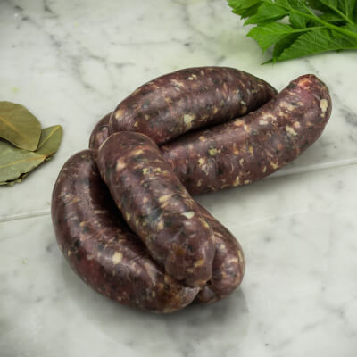 Organic Lamb, Rosemary & Mint Sausages (Gluten-Free)
