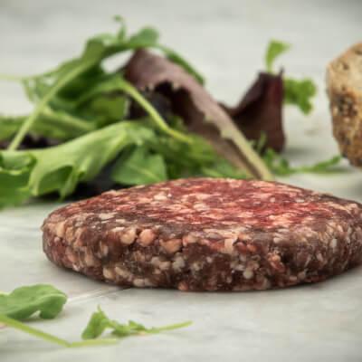 Organic Beef & Garlic Burger