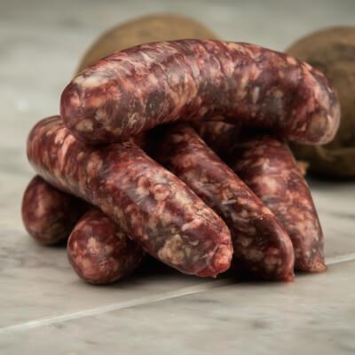 Organic Beef Sausages Gluten-Free